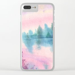 Enchanted Lake Clear iPhone Case