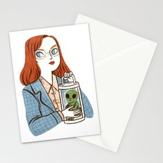 Dana Scully, Patron Saint of Nerds Stationery Cards