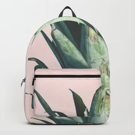Pineapple on Blush Pink Backpack
