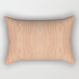 Scratched bamboo chopping board Rectangular Pillow