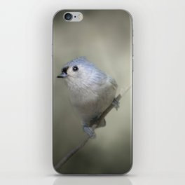 Little Tufted Titmouse iPhone Skin