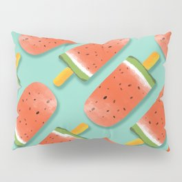 Watermelon Popsicles Pattern #society6 #decor #buyart Pillow Sham