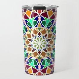 Mandala Indian decorative pattern. Travel Mug