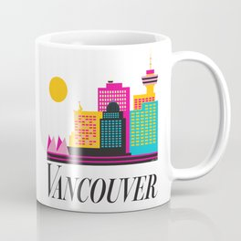 Vancouver Coal Harbour Coffee Mug