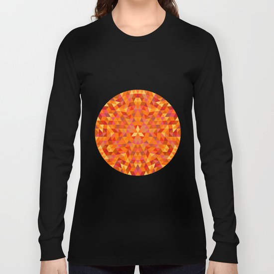 Triangle Sun Mandala Long Sleeve T-shirt