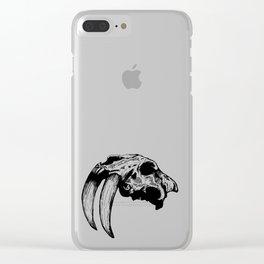 Saber Tooth Kurovoid Clear iPhone Case