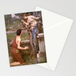 """""""Phyllis and Demophoon"""" by John William Waterhouse (1905) Stationery Cards"""