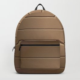 Wood Table Pattern Backpack