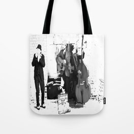 New Orleans Music in the Streets Tote Bag