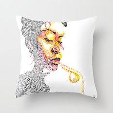 Dotts Throw Pillow