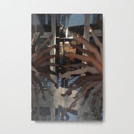 Paris, Les Gambettes / Gambs Metal Print