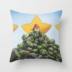 Threat Neutralized! Throw Pillow