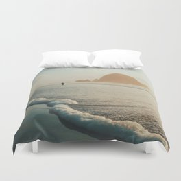 Watching the tide roll in II Duvet Cover