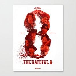 The Hateful 8 Canvas Print