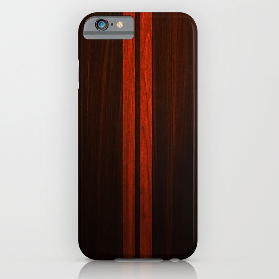 Wooden Striped Oak case iPhone & iPod Case