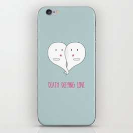 Death Defying Love iPhone Skin