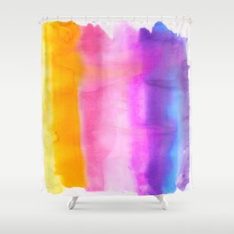 Chromatography Shower Curtain