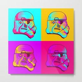Neon Troopers Metal Print