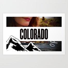 Colorado Bound Art Print