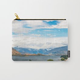 Cloudy summer day at Wanaka, New Zealand Carry-All Pouch
