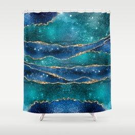 Marble Galaxy #Society6 #Buyart Shower Curtain