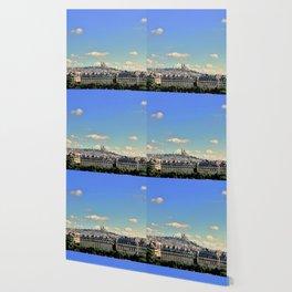 Parisian Skyline Wallpaper