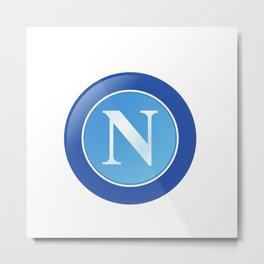 Napoli Logo Metal Print