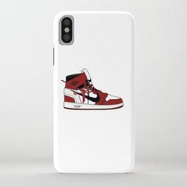 Jordan I x Off White iPhone Case