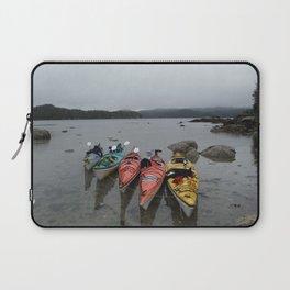 Kayaks in the Rainforest Laptop Sleeve