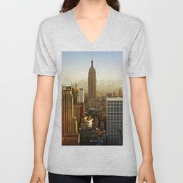 New York City Sunshine Unisex V-Neck