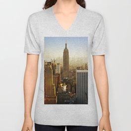 New York City Sunshine Unisex V-Neck