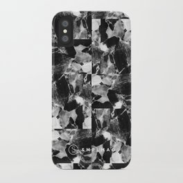 smplmag marble pattern iPhone Case