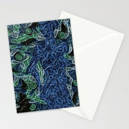Lady Looking Left. Stationery Cards