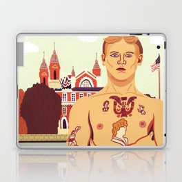 The Stowaway, Ellis Island Laptop & iPad Skin