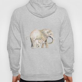 Mom and Baby Elephant 2 Hoody