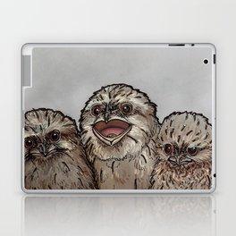 Frogmouth Chicks Laptop & iPad Skin