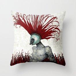 Spartan. Throw Pillow