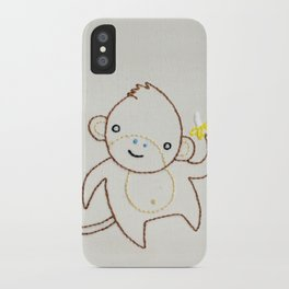 M Monkey iPhone Case