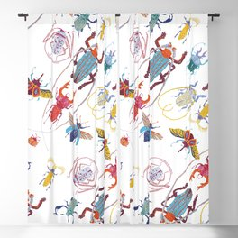 Stitches: Bugs Blackout Curtain
