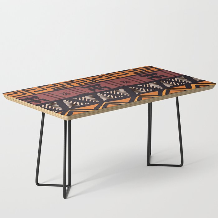Tribal ethnic geometric pattern 021 Coffee Table