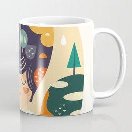 Girl with Trees Coffee Mug