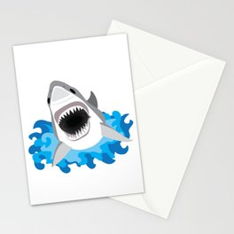 Shark Attack #2 Stationery Cards