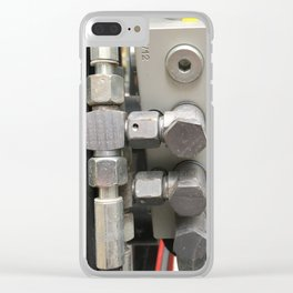 Valve. Fashion Textures Clear iPhone Case