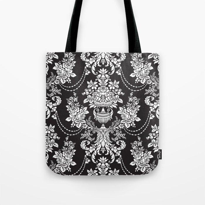 Vintage Pattern Tote Bag