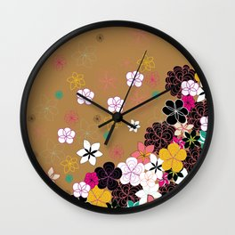 Blooms #2 Wall Clock