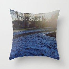 SNOWRISE Throw Pillow