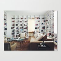 library Canvas Prints featuring Library by Kevin Russ