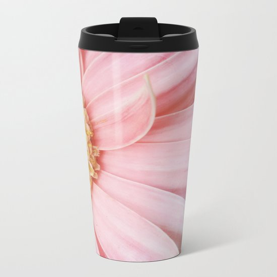 Flower #4 Metal Travel Mug