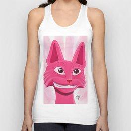 Lollipop the pinky cat Unisex Tank Top