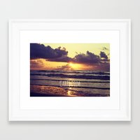 carpe diem Framed Art Prints featuring Carpe Diem by Libertad Leal Photography